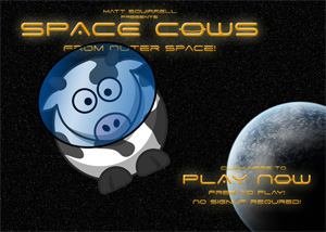 Cows outer space slots